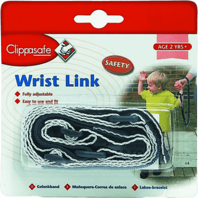 CLIPPASAFE vodítko na ruku pro dítě- modrá