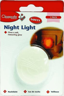 CLIPPASAFE nočné svetlo do zásuvky