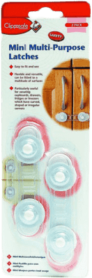 CLIPPASAFE mini zámok skriniek 2ks