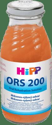HIPP ORS 200 Mrkvovo ryžový odvar 200 ml
