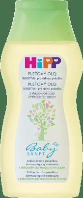HIPP Babysanft Dětský pleťový olej (200 ml)