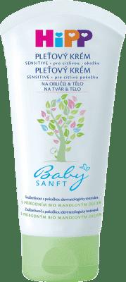 HIPP Babysanft Krém na obličej a tělo (75 ml)