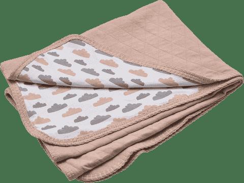 LODGER Bavlnená deka Dreamer Quilt 100x150cm - Nude