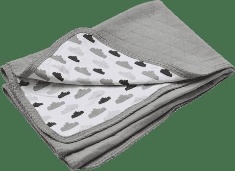 LODGER Bavlněná deka Dreamer Quilt 100x150cm – Grey