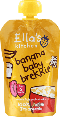 ELLA'S Kitchen Deser jogurt z bananem x 6