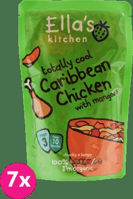 ELLA'S Kitchen Obiadek BIO kurczak po karaibsku z mango 10m+