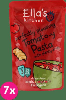 7x ELLA´S Kitchen Rajčatové těstoviny se zeleninou 190g