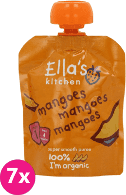 ELLA'S Kitchen Puree owocowe BIO mango