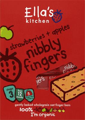 5x ELLA'S Kitchen Tyčinka - Jahoda a jablko 25g