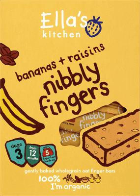 5x ELLA'S Kitchen Tyčinka Banán a hrozienka 25g