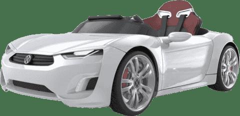 EPLINE Elektrické Auto Henesy Broon F830, biele