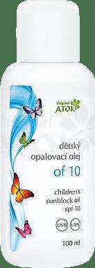 ATOK Original detský opaľovací olej OF10 100 ml