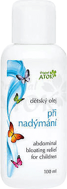 ATOK Original dětský olej při nadýmání 100 ml