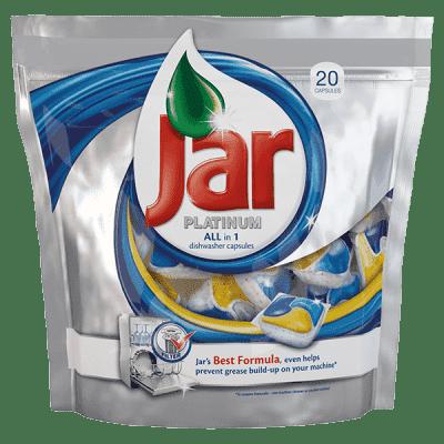 JAR Platinum 20 szt. - tabletki do zmywarki