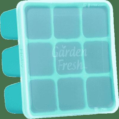 NUBY Zásobník na príkrmy do mrazničky Garden Fresh, tyrkys
