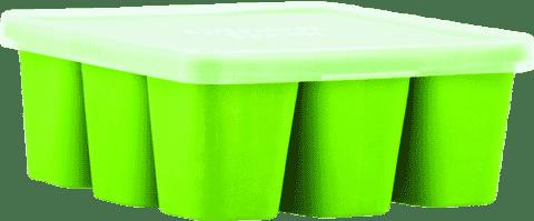 NUBY Pojemnik na żywność do zamrożenia z serii Garden Fresh, kolor zielony