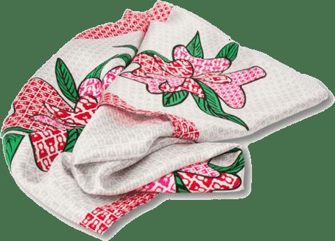 TERIBEAR hedvábný šátek 88x88 cm