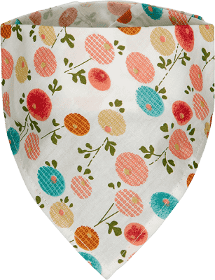 T-TOMI Dětský šátek, květiny