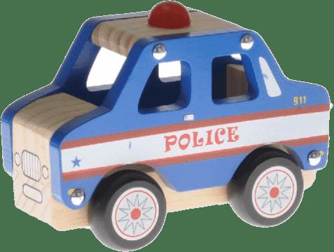 2-PLAY Auto dřevěné - policejní