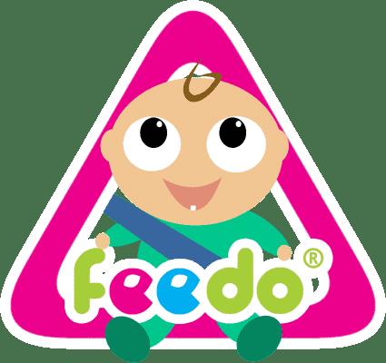 FEEDO Výstražná samolepka na auto – chlapeček (Feedo Klub)