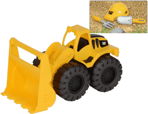 NIKKO CAT Zestaw buldożer