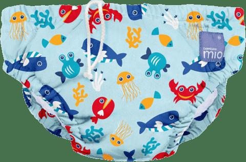 BAMBINO MIO Kalhotkové pleny koupací Deep Sea Blue vel.M (7-9 kg)