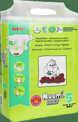 MUUMI Baby Maxi+ 44 ks (10-16 kg) – jednorázové pleny