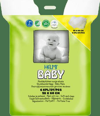 HELMI BABY Přebalovací podložka 6 ks (58x60cm)