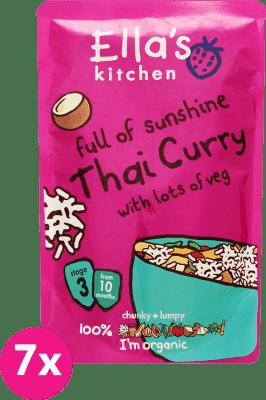7x ELLA'S Kitchen Thai Curry - thajské kari 190g