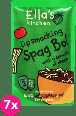 7x ELLA'S Kitchen Špagety Bolognese 190g