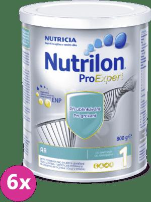 6x NUTRILON 1 ProExpert A.R. 800g
