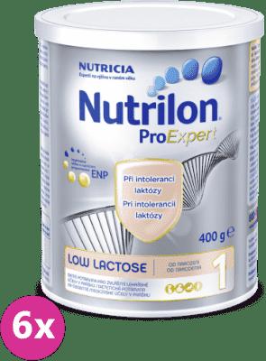 6x NUTRILON 1 ProExpert Low Lactose (400g)