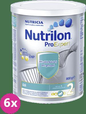6x NUTRILON 2 AR ProExpert 800g