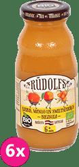 6x RUDOLFS BIO Mango-tekvica-rakytník ovocný nápoj 190 ml