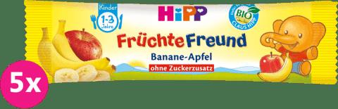 5x HiPP BIO Ovocná tyčinka jablká a hrušky 25 g
