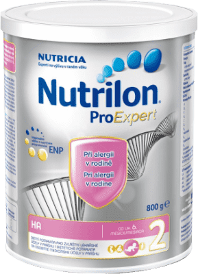 Špeciálne mlieka Nutrilon