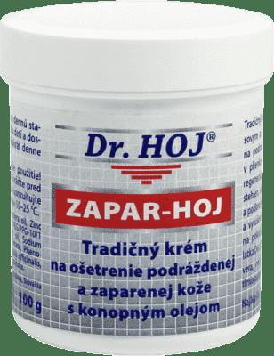 DR. HOJ ZAPAR-HOJ Tradiční krém proošetření podrážděné aopruzené kůže skonopným olejem 100g