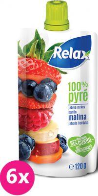 6X RELAX PYRÉ 100% Malina 120 g