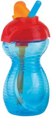 MUNCHKIN Click Lock hrneček s výklopným brčkem (296 ml), modrý