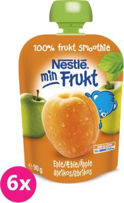 6x NESTLÉ Kapsička Marhuľa-Jablko (90 g) - ovocný príkrm