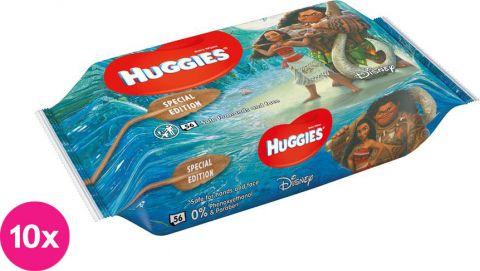 10x HUGGIES® N'Care Disney Moana, 56 ks - vlhčené obrúsky