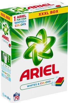 ARIEL White And Colors 5,25kg (70 dávok) – prací prášok