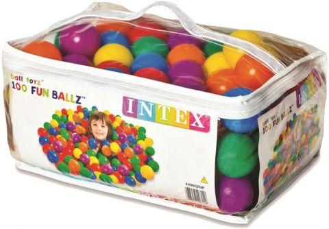 TEDDIES Míčky do hracích koutů 6,5 cm barevné, 100ks