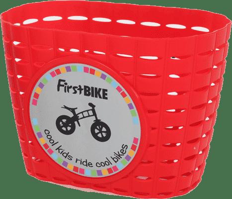 FIRST BIKE Košík červený