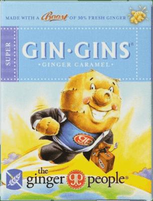 GIN GINS Super Zázvorové cukríky zvlášť silné 31g