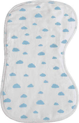 GLOOP Dečka k odhříhnutí miminka Blue CLOUDS