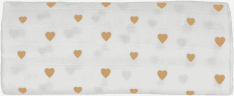 GLOOP Mušelínová plena 100x100 Little Hearts