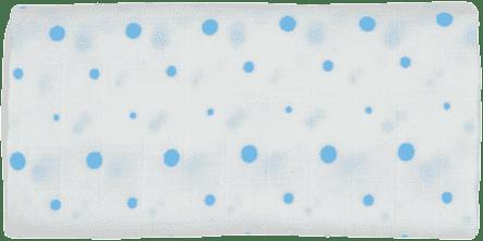 GLOOP mušelínové plienka 70x70 Blue Dots
