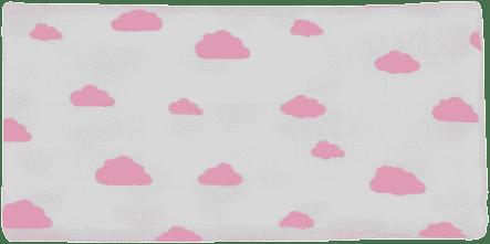 GLOOP Pieluszka muślinowa 70x70 Pink Clouds