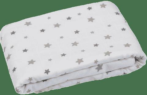 GLOOP Detská deka z organickej bavlny Stars